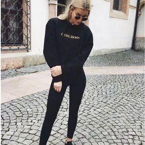nwot black leggings
